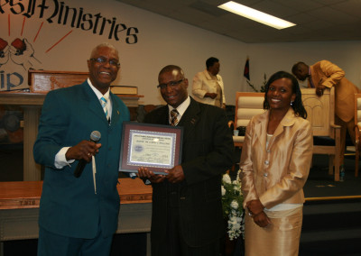 Bishop Williams' 33 Year Recognition